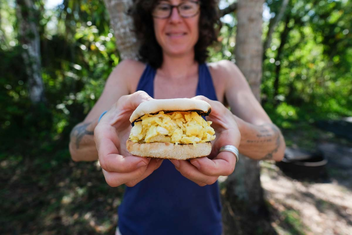 3 breakfast recipes on the road