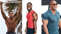 Celebrity Workouts from Zac Efron, Kevin Hart, Dwayne Johnson, and more.