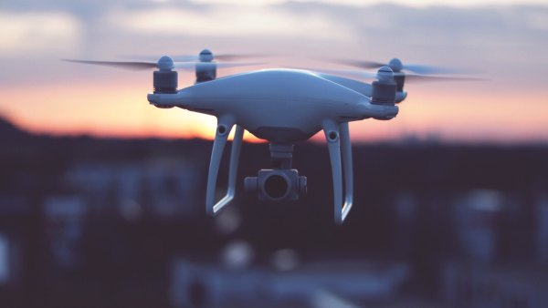 Close-Up Of Drone Against Sky
