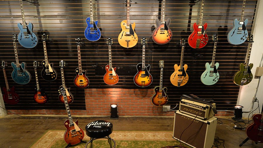 A general view of atmosphere during Gibson's Best Year Ever 2016 Launch Event at Gibson Nashville Showroom on October 27, 2015 in Nashville, Tennessee.