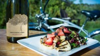 Chef Fiona Bohane's Grilled Halloumi with Strawberries, Figs, Honey and Basil