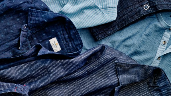 Indigo is one of spring's coolest colors.
