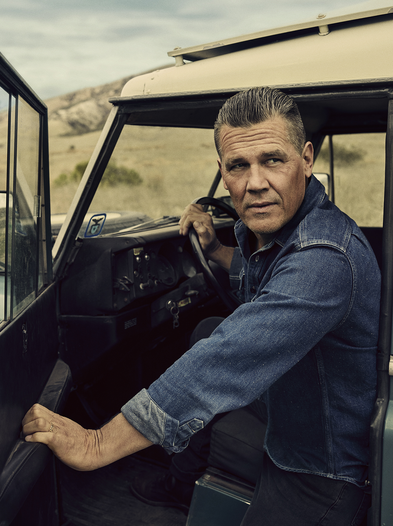 Josh Brolin photographed for the June 2018 issue of Men's Journal.