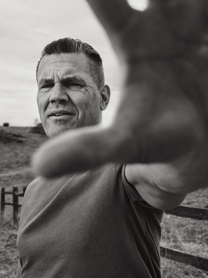 Josh Brolin photographed for the June 2018 issue of Men's Journal