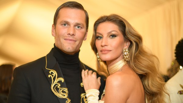 NEW YORK, NY - MAY 07: Tom Brady and Gisele Bundchen attend the Heavenly Bodies: Fashion & The Catholic Imagination Costume Institute Gala at The Metropolitan Museum of Art on May 7, 2018 in New York City. (Photo by Matt Winkelmeyer/MG18/Getty Images for The Met Museum/Vogue)