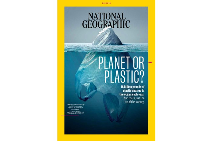 National Geographic Cover: Planet or Plastic?