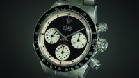 One of the many Rolex watches sold at an auction over the weekend.