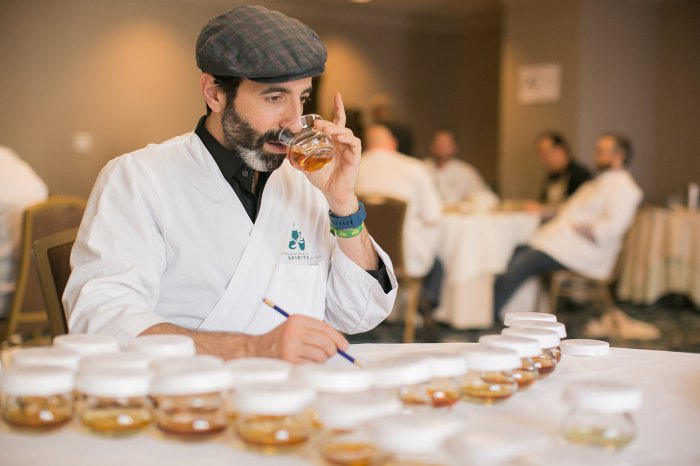 Danny Ronen, founder of DC Spirits, an educational organization for food, wine and spirits, at the San Francisco World Spirits Competition.
