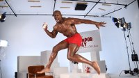 Terry Crews Celebrates Old Spice's 80th Anniversary on April 9, 2018 in New York City.