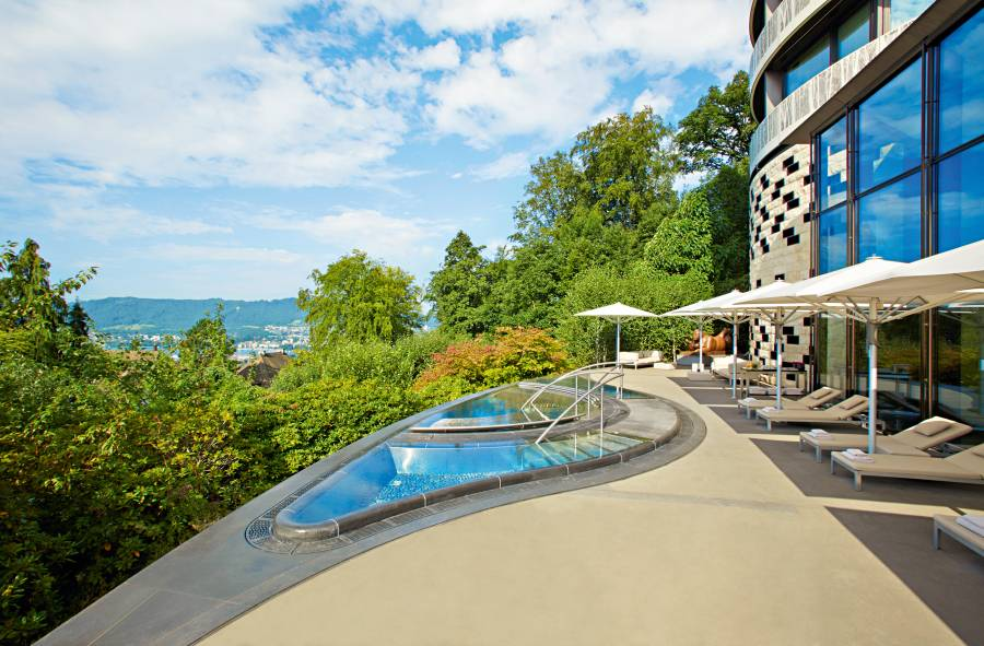 The Dolder Grand Spa Terrace