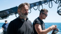 Director Baltasar Kormákur on the set of ADRIFT