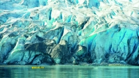 Reid Glacier n Glacier Bay National Park.
