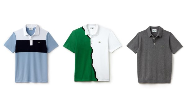 lacoste 85th anniversary collection