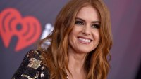Actress Isla Fisher attends the 2018 iHeartRadio Music Awards