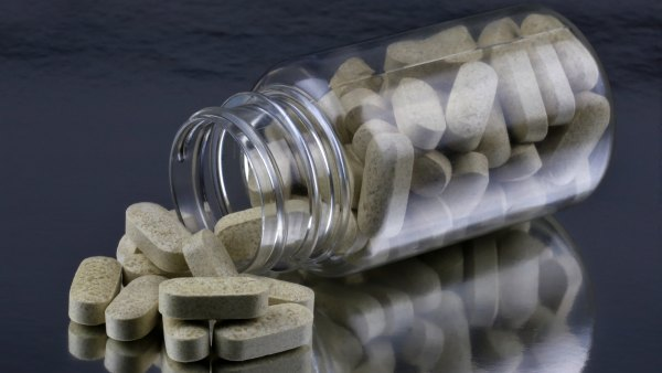 Nutritional Supplements in a bottle