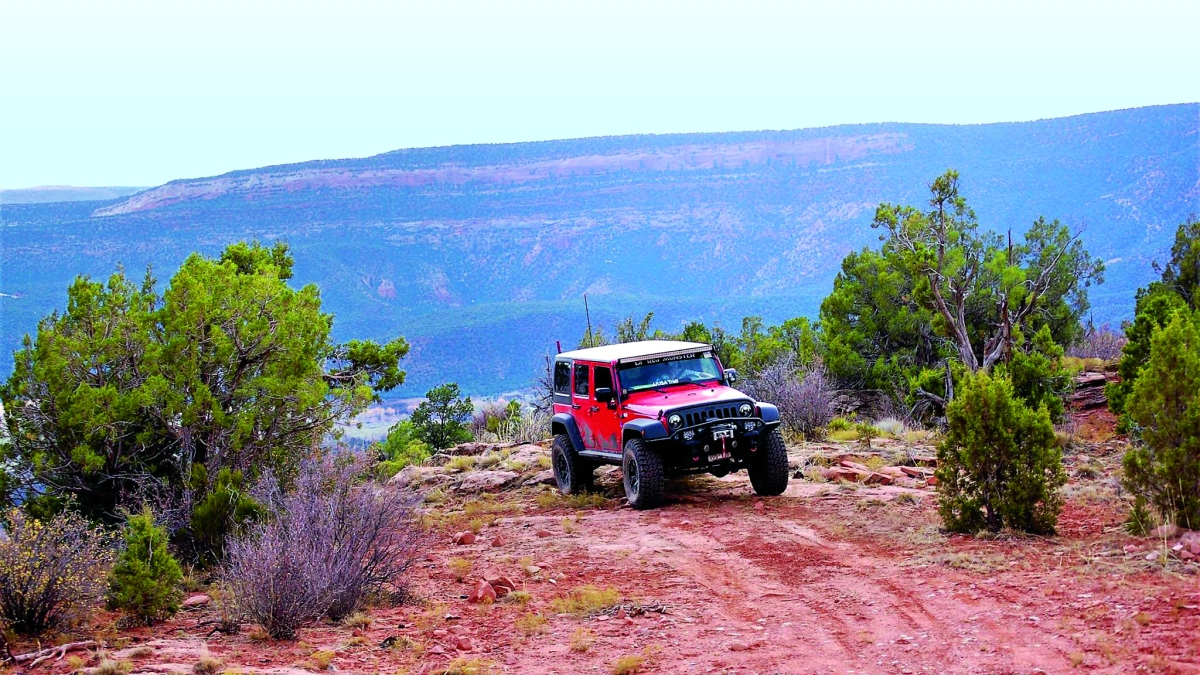 The Southwest's Bumpiest Ride: The Rimrocker Trail from Colorado to Utah