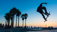 Skaters in Venice Beach