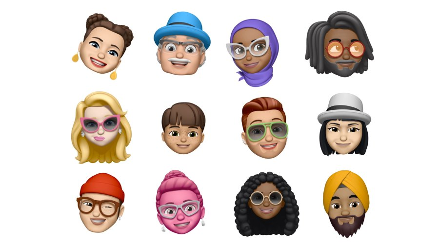 """In Apple's iOS 12, users will be able to create personalized """"Memoji"""" to use in the messages app."""
