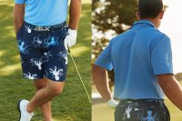 Golfer Billy Horschel in the RLX x Billy Horschel Collection from Ralph Lauren