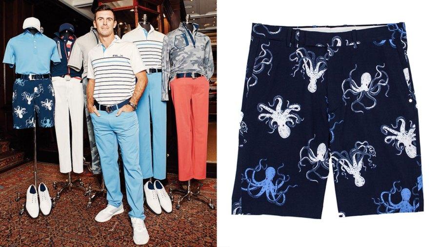Golfer Billy Horschel in the RLX x Billy Horschel Collection
