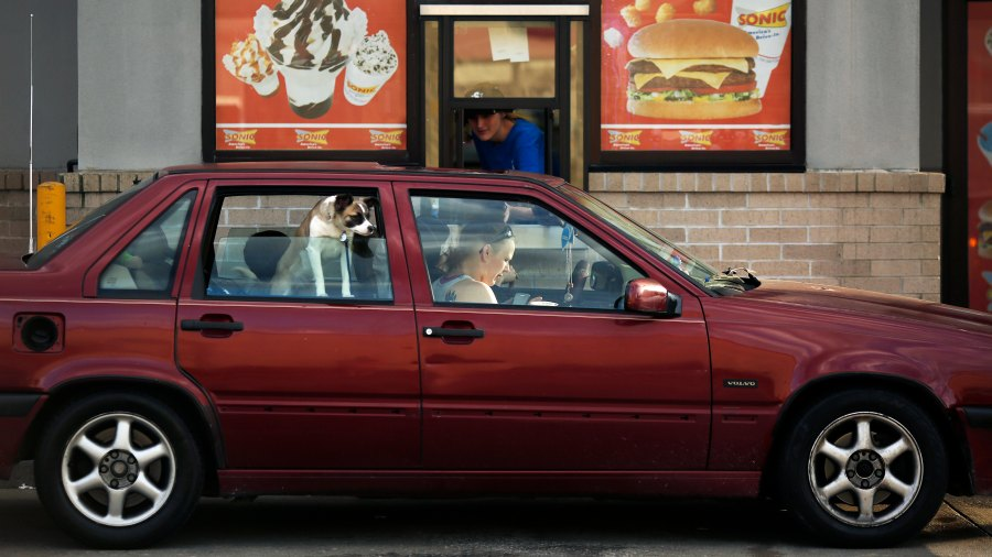 drive-in fast food