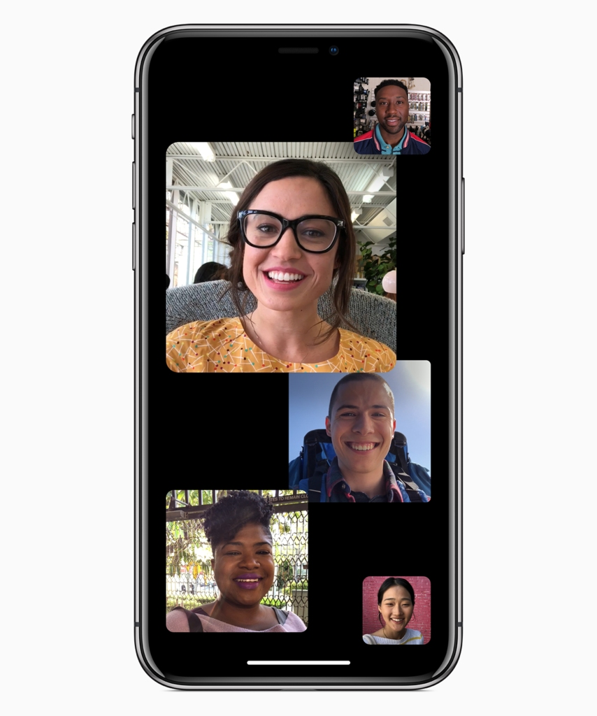 Up to 32 iPhone users will be able to join the same FaceTime chat in iOS 12.