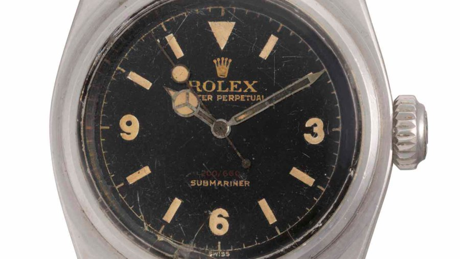 A Rolex Submariner made in 1956 sold at auction for over $1 million.