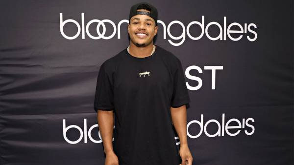 Bloomingdale's and 2(X)IST welcome New York Giants wide receiver Sterling Shepard on June 7, 2018 in New York City.