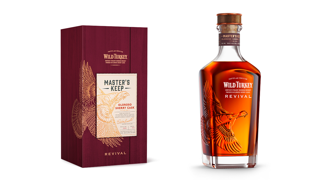 Wild Turkey's New Master's Keep Revival Is a Sherry-finished Whiskey You'll Want to Try