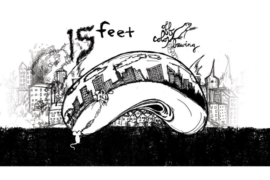 Off Color Brewing: 15 Feet