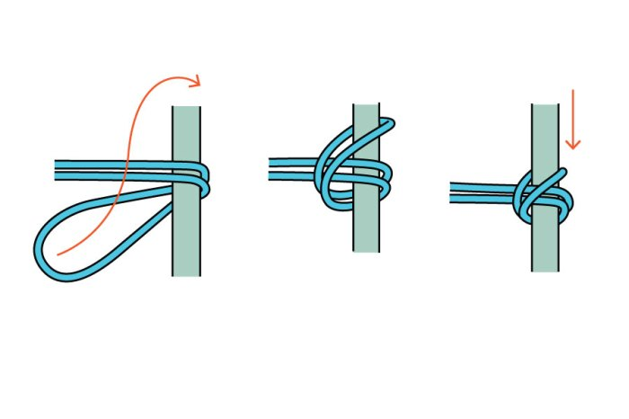 Boating Pile Hitch Knot