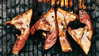 Grilled fish collars
