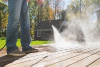 Home Chore Workout Power Wash