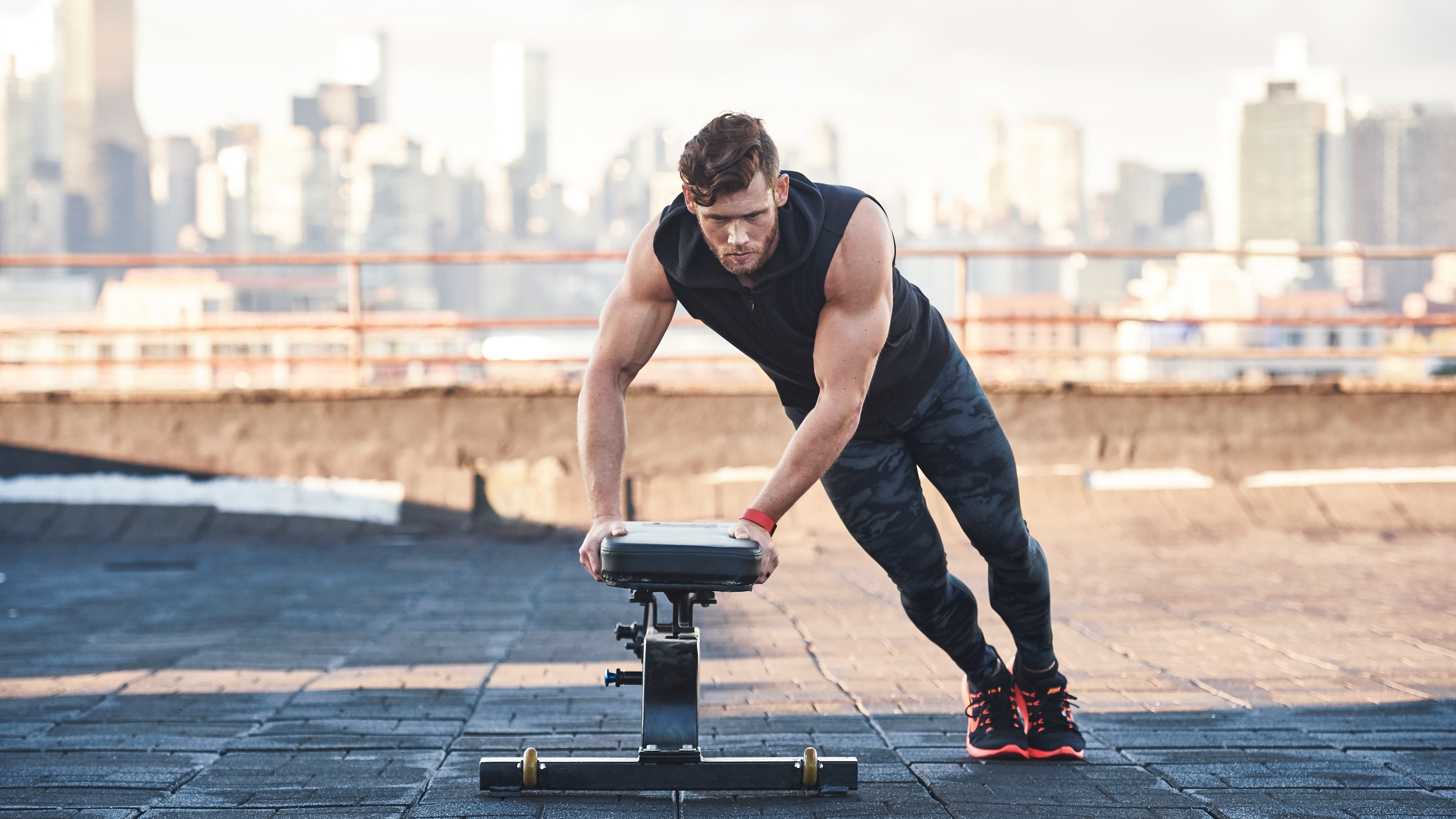 Workout of the Month: The 4-Move Total-body Bench Workout