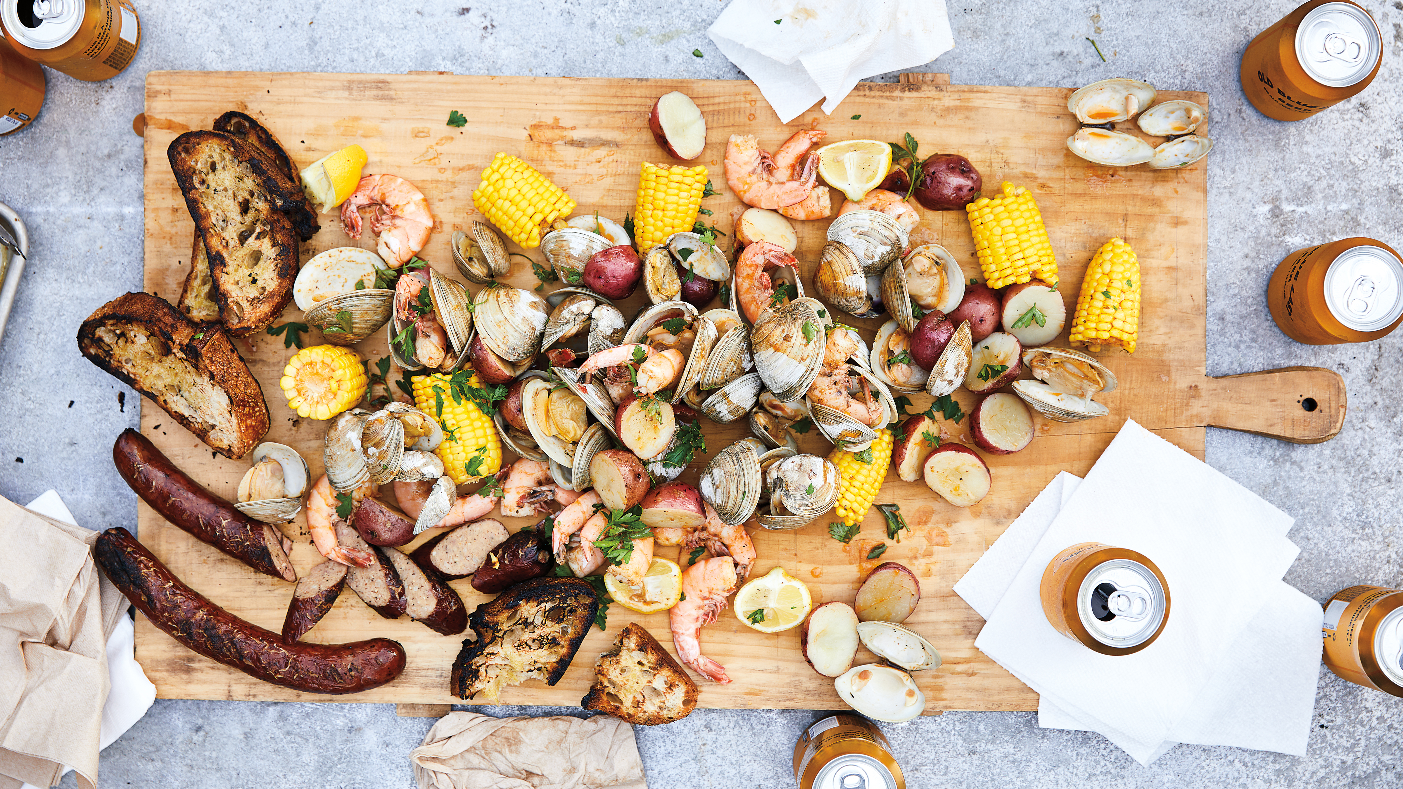 The Guide to an Epic Clambake, No Beach Required