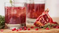 Pomegranate Splash scotch cocktail