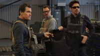 'Sicario' stunts with Josh Brolin