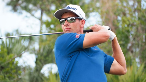 PGA Tour golfer Adam Scott