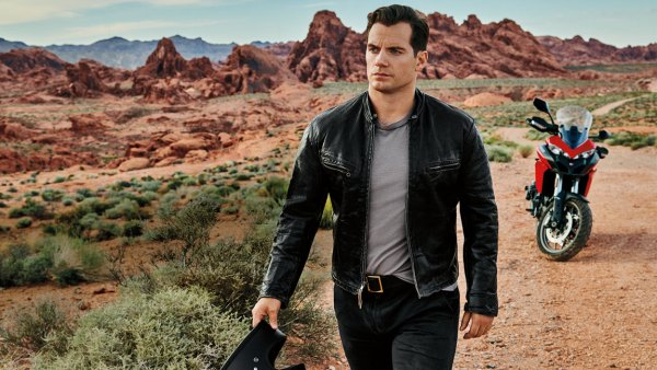 Henry Cavill at the Valley of Fire State Park in Nevada
