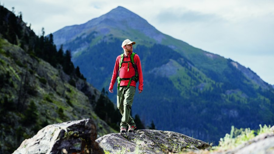 blaze a trail - hiking gear