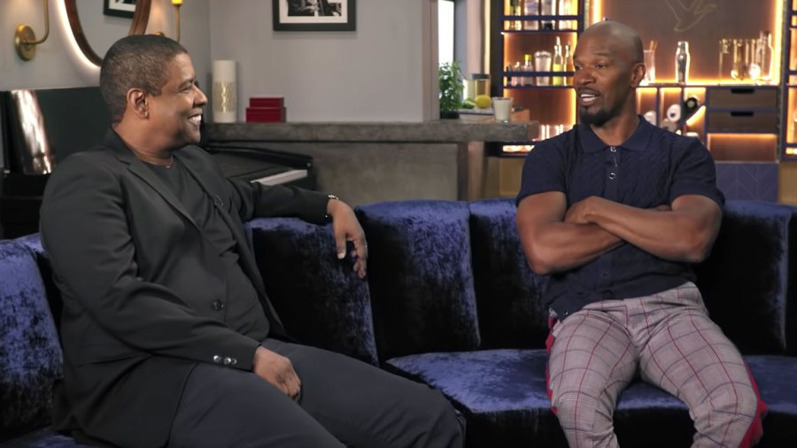 Jamie Foxx and Denzel Washington on Off Script