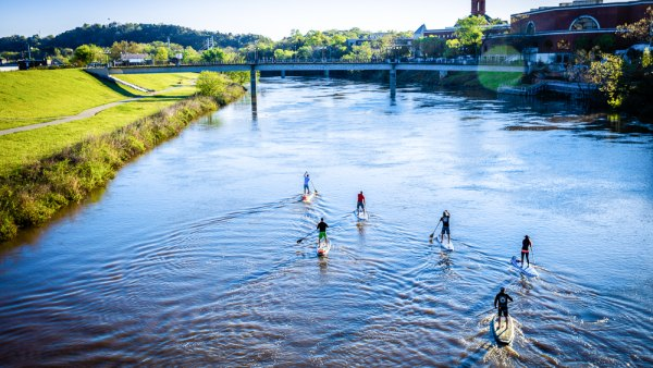 Paddle Boarding – Rome