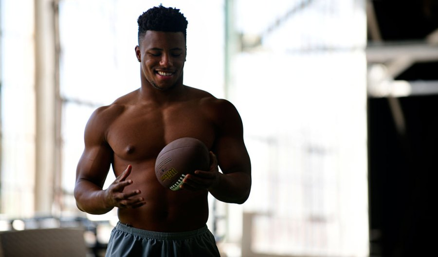 New York Giants running back Saquon Barkley