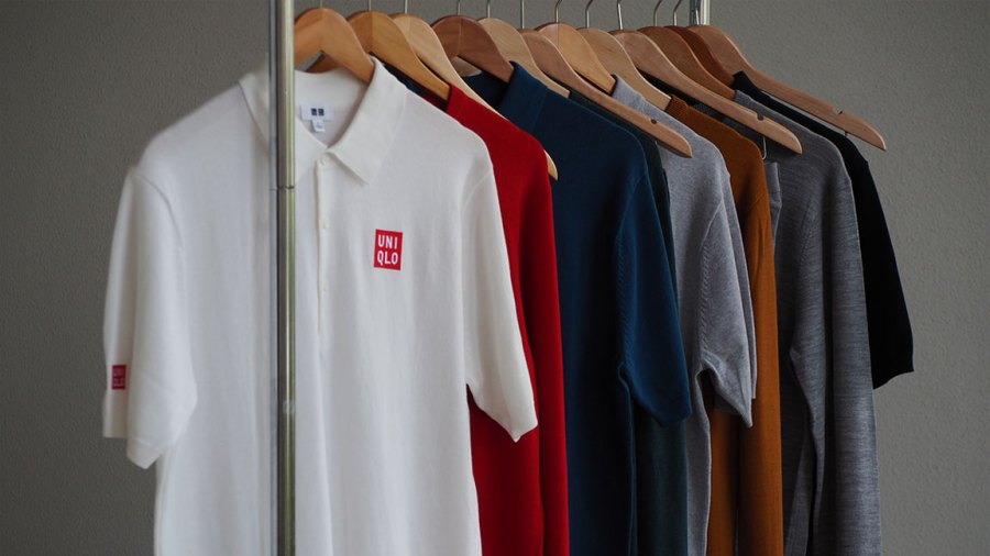PGA Tour golfer Adam Scott's Uniqlo line of polos