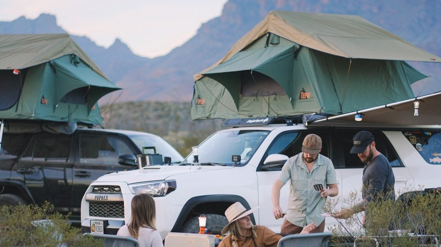 rooftop tent for car camping