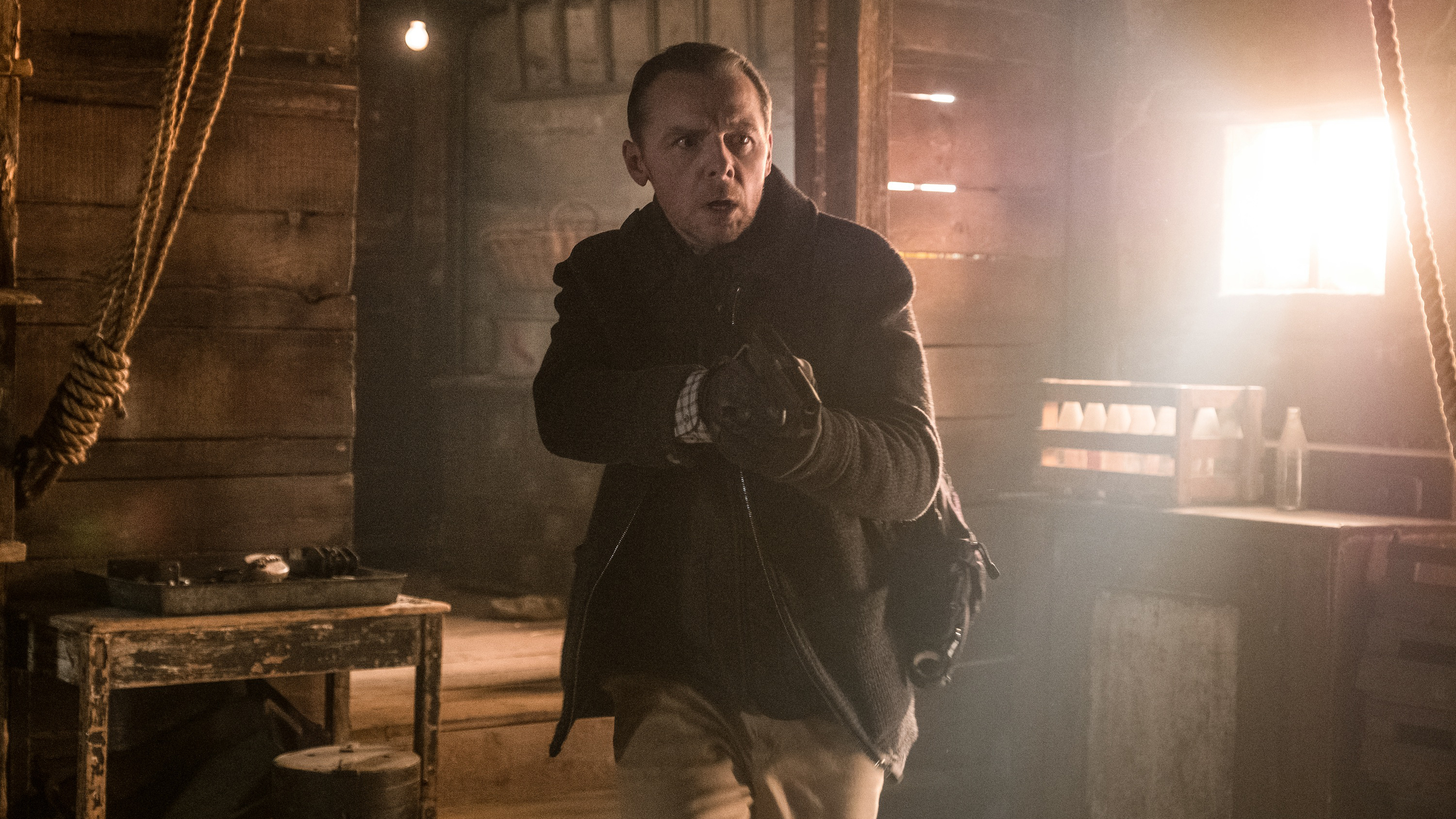 How Simon Pegg Got a Six-Pack for Mission: Impossible—Fallout'