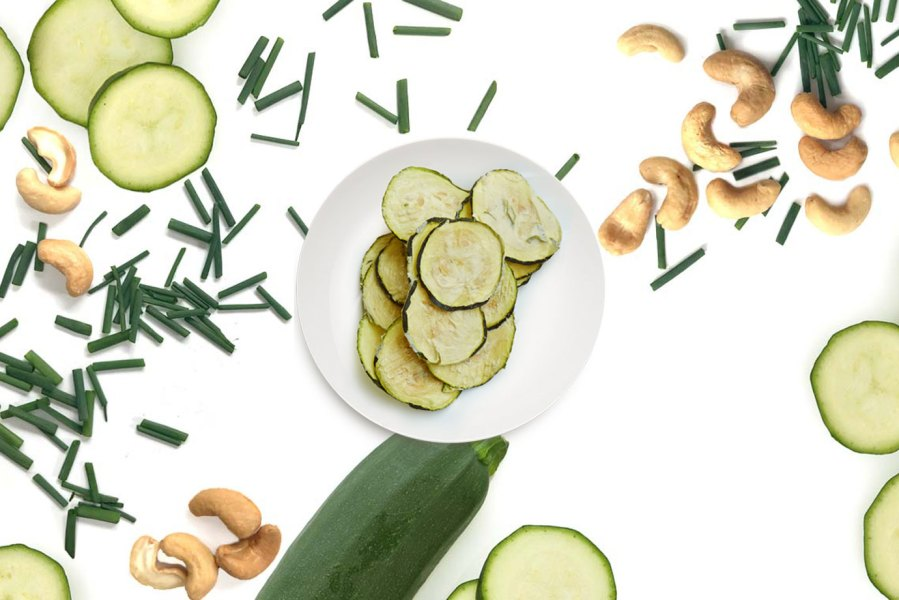 Office Snacks Zucchini Chips