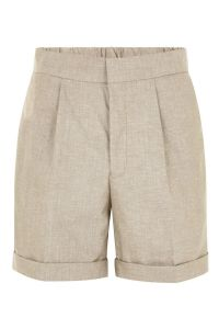 Stone Shorts With Turn Up