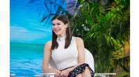 TODAY -- Pictured: Alexandra Daddario on Friday, May 26, 2017 -- (Photo by: Nathan Congleton/NBC/NBCU Photo Bank via Getty Images)