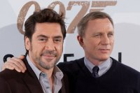 Actors Javier Bardem and Daniel Craig attend 'Skyfall' Photocall on October 29, 2012 in Madrid, Spain. (Photo by Pablo Blazquez Dominguez/WireImage)